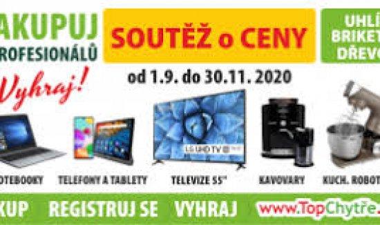 Známe výherce soutěže s www.topchytre.cz
